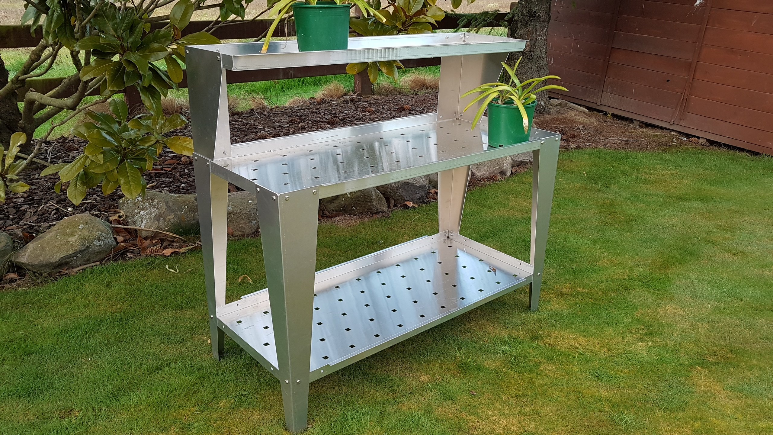 plant bench 3 tier 500 x 1200mm