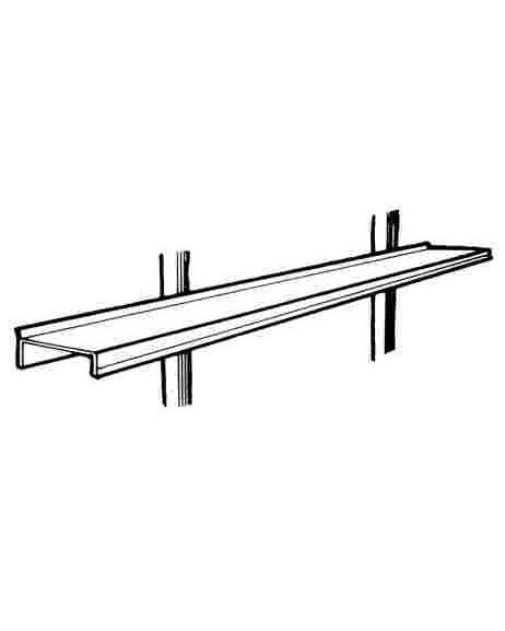 Aluminium Shelf 1800mm