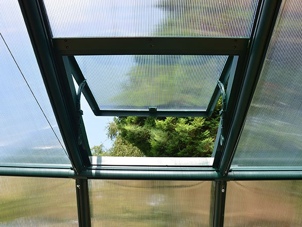 Ventilation for Glasshouses and Greenhouses
