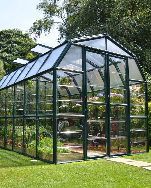 Grand Gardener Clear AC38C Greenhouse