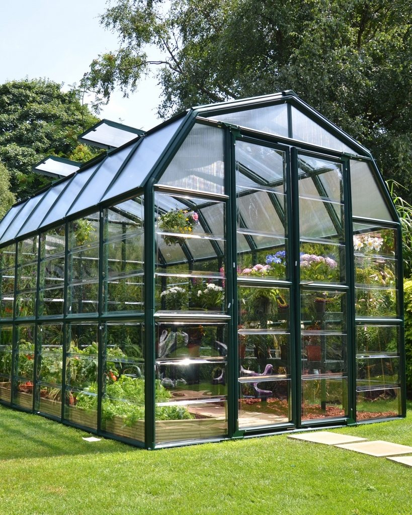 Grand Gardener Clear AC38C Greenhouse