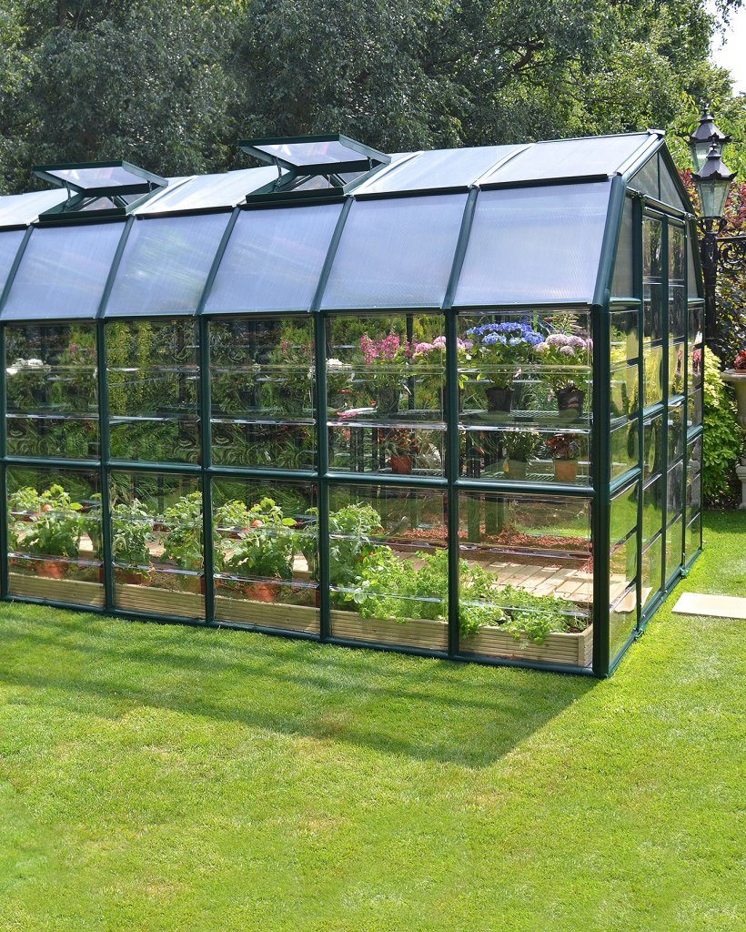 Grand Gardener Clear AC75C Greenhouse