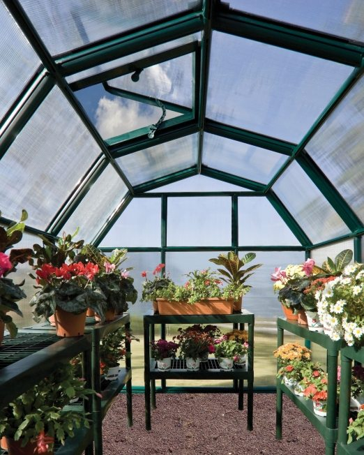 why use a glasshouse or greenhouse